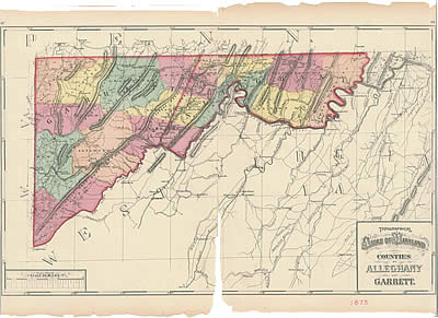 Allegany County Tax Maps Whilbr   Allegany County taxes for 1872
