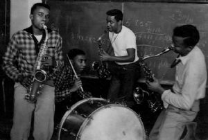 Carver High School Dance Band 1954