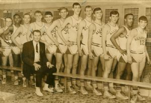 Bob Powell, Pete Keys - Allegany basketball