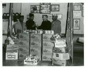 Fulton Myers Post food donation