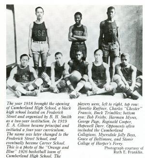 Frederick Street School Basketball Team, 1926