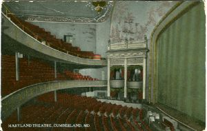 The Maryland and other Cumberland Theaters