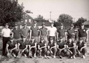 Kelly-Springfield Tire Company softball team member, Walter Younger