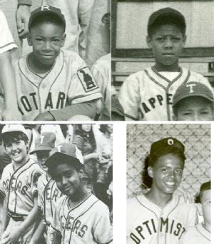 Little League Baseball players