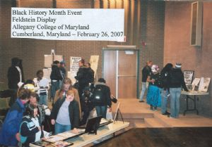 Black history month - Allegany College 2007