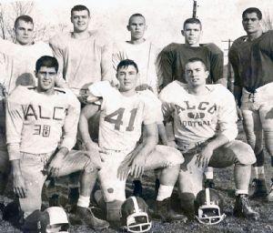 Danny Darr - Allegany High School football, 1965