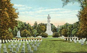 Blacks buried separately at Antietam national Cemetery