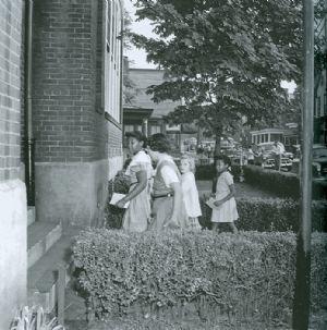 Virginia Avenue School Integration, 1955