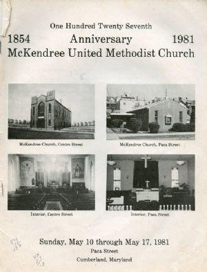 McKendree 1981 Anniversary