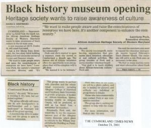 Black history museum opening