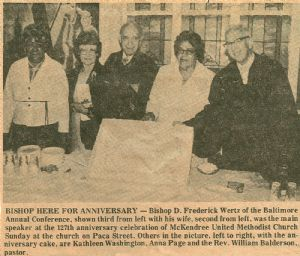 McKendree United Methodist 127th Anniversary
