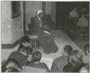 Sojourner Truth portrayed in Garrett