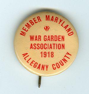 World War I gardens