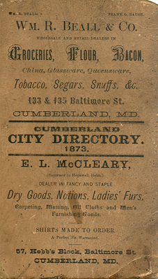 1873 Churches in Cumberland