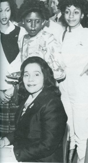 Coretta Scott King - Frostburg State College, 1981