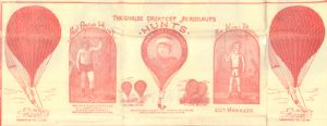 Ilustrations of Prof. Oscar Hunt, Mrs. Lottie Hunt,