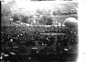 Allegany County, Maryland, Centennial Celebration, 1889: Balloon.