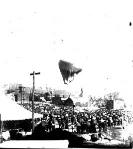 Allegany County, Maryland, Centennial Celebration, 1889: Balloon