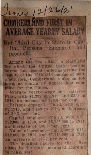1919 census of manufacturers