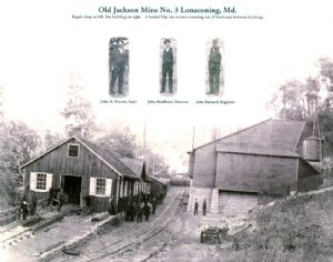 Jackson Mine, George's Creek, Maryland.