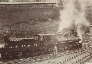 Cumberland and Pennsylvania Rail Road, Frostburg, Maryland.