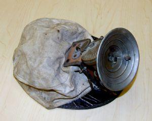 Miner's cap and lamp