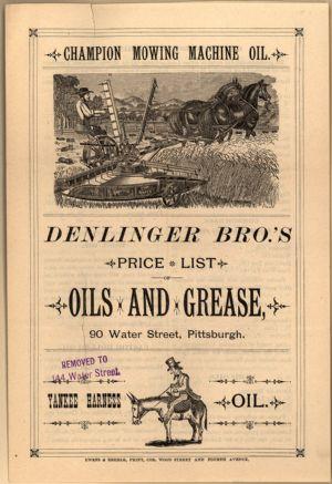 General store ledger - Denlinger Bros