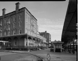 Queen City Hotel and B&O Railroad