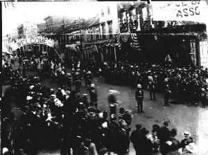 Parade on Baltimore Street