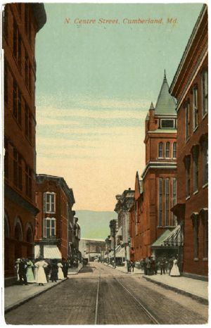 Downtown, 1910