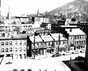 Downtown in 1950