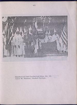 Ku Klux Klan in Cumberland