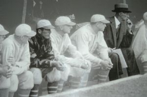 Connie Mack, Lefty Grove, Philadelphia Athletics