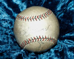 Lefty Grove, signed baseball