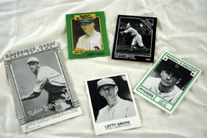 Lefty Grove, baseball cards