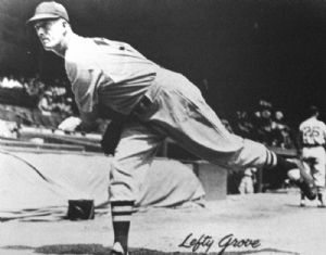 Lefty Grove, American League, Philadelphia Athletics