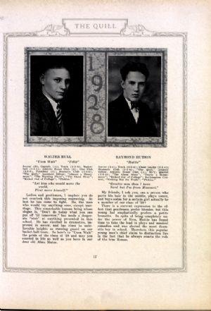Walter Hull and Raymond Hutson