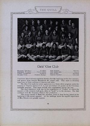 Girls' Glee  Club