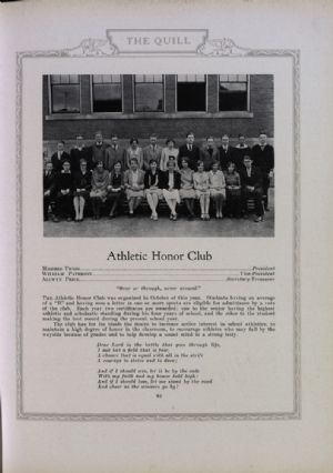 Athletic Honor Club