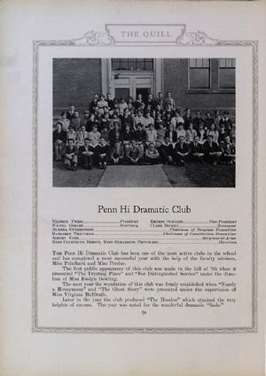 Penn Hi Dramatic Club