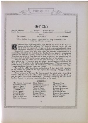 Hi-Y Club