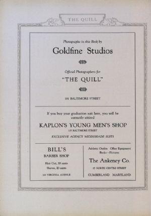 Goldfine, Kaplon, Bill's barber shop, Ankeney