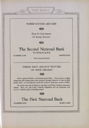 First and Second National Bank