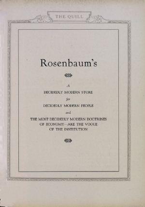 Rosenbaum's