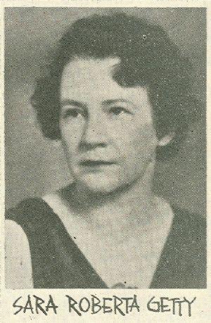 Sara Roberta Getty