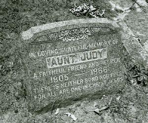 """Aunt Judy"""