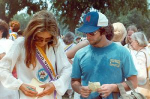 Al Feldstein and Gloria Steinem