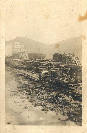 Pit props at Shallmar