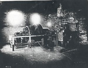 Skinner engine for generating electricity.