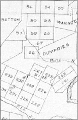 Military lots assigned to Maryland soldiers, 1778